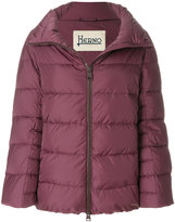 Herno spread collar padded jacket