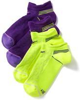 Old Navy Go-Dry Athletic Socks 2-Pack for Girls