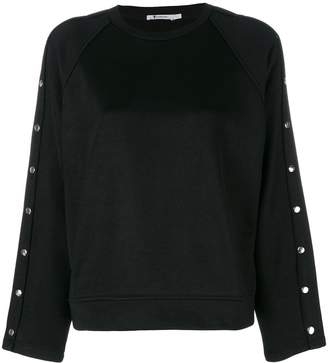Alexander Wang studded sweatshirt