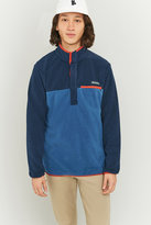 Columbia Mountainside Blue 1/4 Snap Pullover Jacket