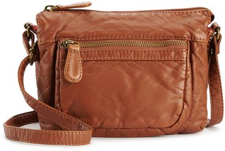 Hanson Karla Charlotte Pre-Washed Compact Crossbody Bag