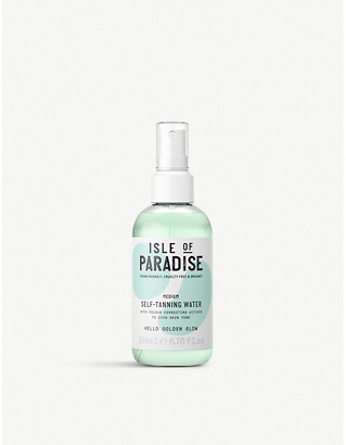 Isle of Paradise Medium self-tanning water 200ml