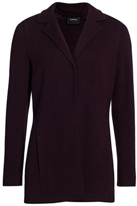 Akris Cashmere Long Jacket