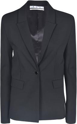 Off-White Rear Embroidered Blazer