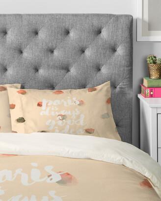 Deny Designs Hello Sayang Paris Is Always A Good Idea Duvet Set
