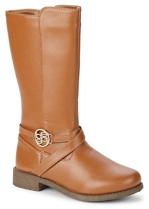 Bebe Girl's Embellished Riding Boots