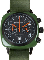 Briston Clubmaster chronograph watch 13140.pba.574.3.nga