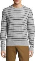 Saks Fifth Avenue Men's Cashmere Striped Sweater