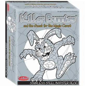 Unbranded Killer Bunnies and the Quest for the Magic Carrot Stainless Steel Booster Deck by Playroom Entertainment