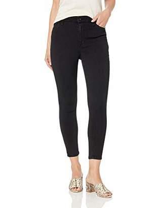 Bandolino Women's Thea Hi Rise 5 Pocket Crop Jean