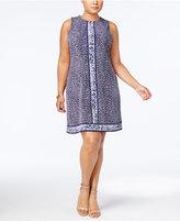 MICHAEL Michael Kors Size Animal-Print Dress