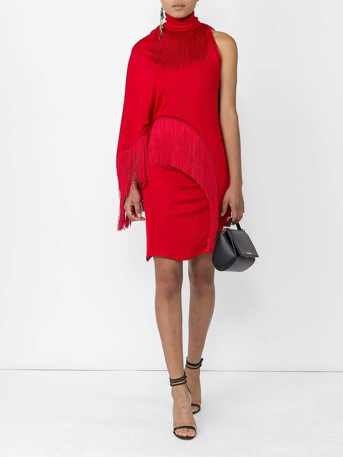 Givenchy Fringed cocktail dress