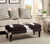 Convenience Concepts Designs4Comfort Bench with Nailheads