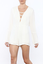 Lucca Couture Bell Sleeve Romper