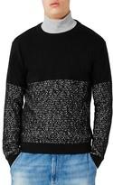 Topman Men's Pixel Print Sweater