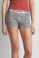 American Eagle Outfitters AE Logo Space Dye Soft Shorite