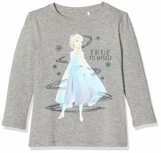 Name It Girl's Nmffrozen Ember Ls Top Wdi Sweatshirt