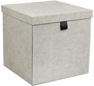 Bigso Box Of Sweden Oui X Bigso Logan Large Square Storage Box Linen