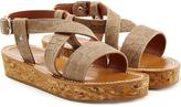 K. Jacques Leathe Platform Sandals