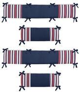 JoJo Designs Sweet Nautical Nights Collection Crib Bumper