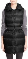 Moncler Women's 'Glykeria' Water Resistant Hooded Down Puffer Vest