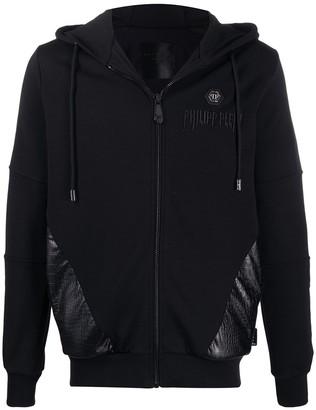 Philipp Plein Logo Sweat Jacket