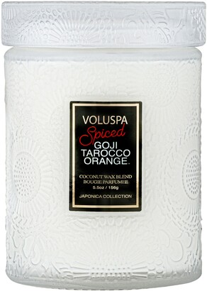 Voluspa Spiced Goji Tarocco Orange Jar Candle