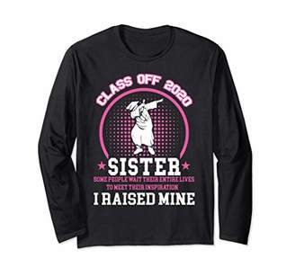 Proud Sister of a Class of 2020 Graduate Senior Gift Long Sleeve T-Shirt