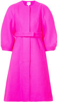 DELPOZO oversized bell coat - women - Acetate/Viscose/Virgin Wool - 36
