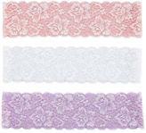 Decree Carole Floral Lace 3-pc. Headwrap Set