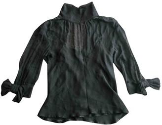 Viktor & Rolf Black Silk Top for Women