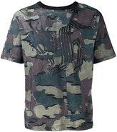 Dries Van Noten camouflage T-shirt