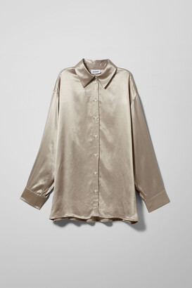 Weekday Carol Shirt - Grey
