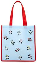 Forever 21 FOREVER 21+ Panda Graphic Eco Tote Bag