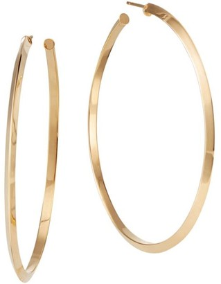 Lana Royale 14K Yellow Gold Edge Hoops/2.25""