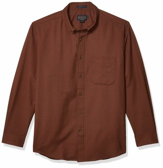 Pendleton Men's Long Sleeve Woven Sir Pen Button Down Shirt