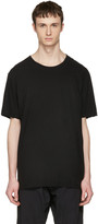 Attachment Black Slight Oversized T-shirt