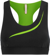 NO KA 'OI No Ka'Oi Hala stretch-jersey sports bra