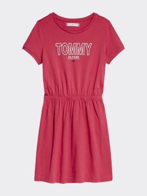 Tommy Hilfiger Organic Cotton Logo T-Shirt Dress