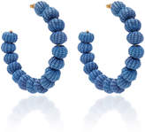 Mercedes Salazar Blue Hoops