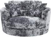 Very Bellini Fabric Swivel Chair