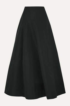 BITE Studios - Organic Linen And Cotton-blend Maxi Skirt - Black