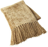 Pier 1 Imports Gold Chenille Throw