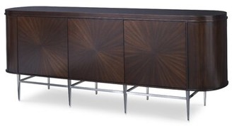 "Racetrack 76"" Wide Sideboard Ambella Home Collection"