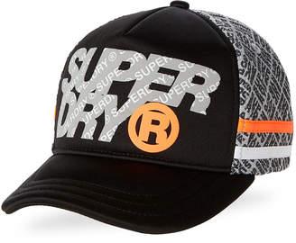 Superdry Jet Black & Grey Zac Baseball Cap