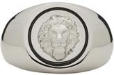 Versus Silver Lion Head Ring