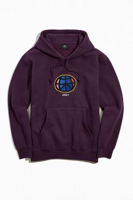 Obey Earth Applique Hoodie Sweatshirt