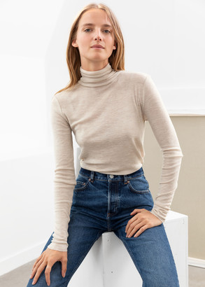 And other stories Fitted Wool Turtleneck