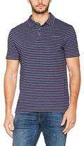 Fat Face Men's Stripe Single Jersy Polo Shirt