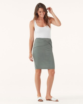 Splendid Rib Sandwash knot Skirt
